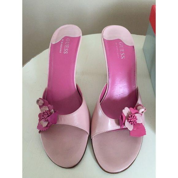 6308ba6d2af ⚡️Flash Sale⚡ Guess Pink 💕Kitten Heels ⚡️Flash Sale⚡ Size