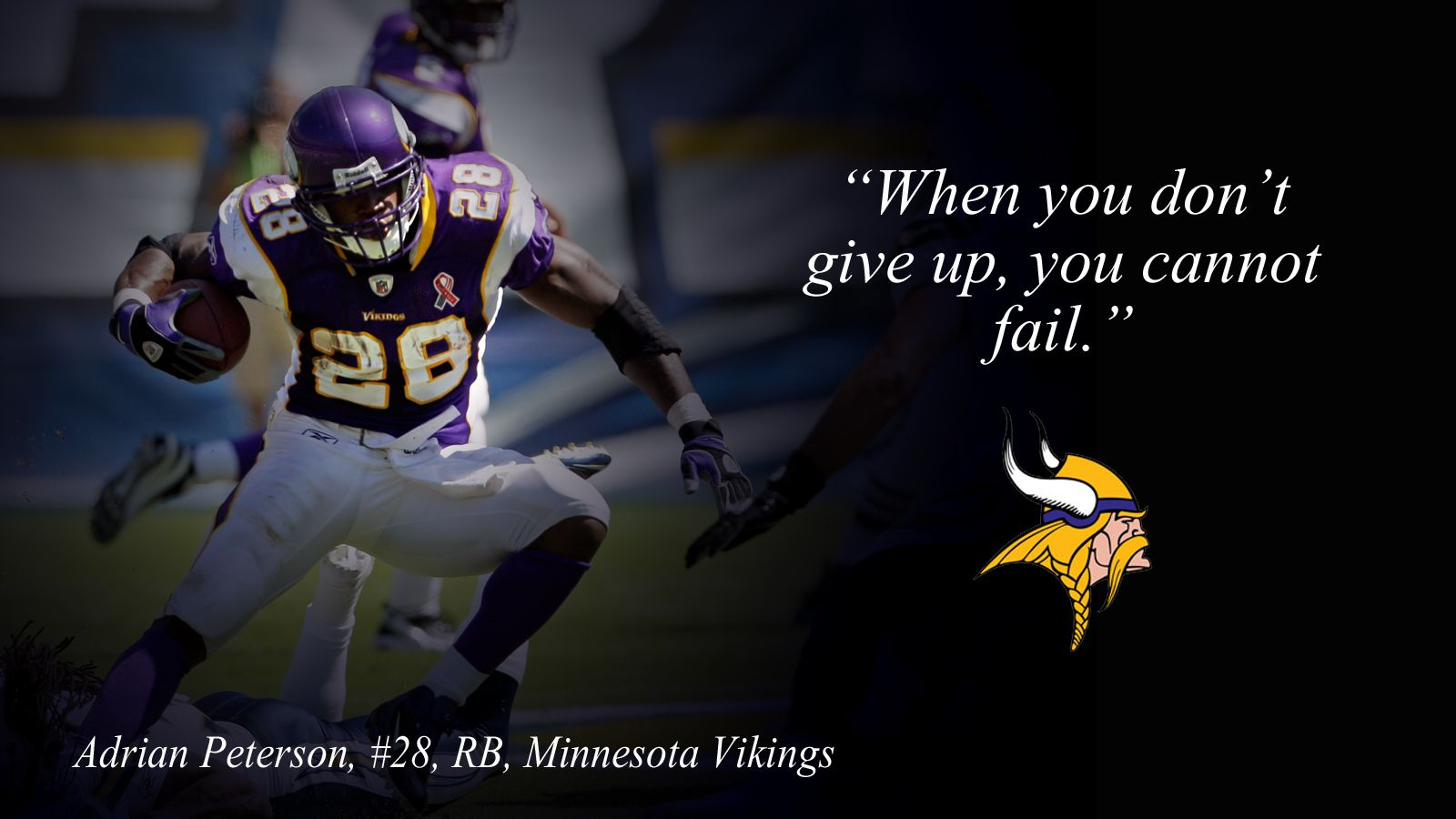 Adrian Peterson Football Quotes Famous Football Quotes Football Motivation