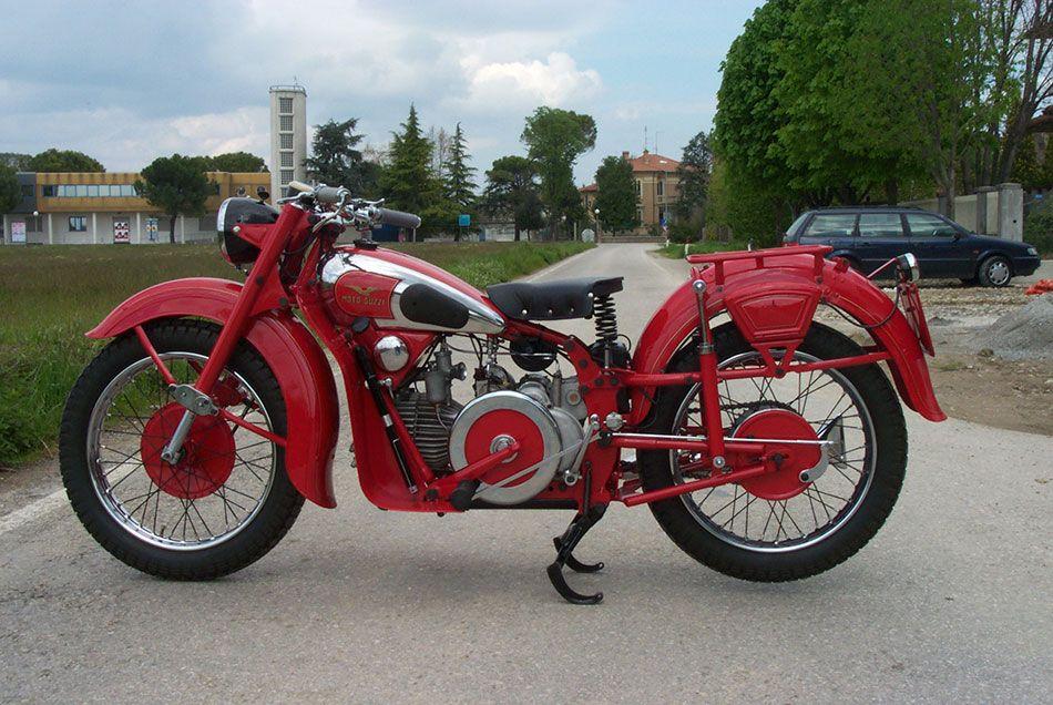 Astore 500cc 1950 - Museo Guzzi Forlimpopoli