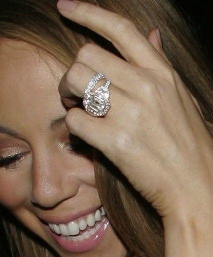 bague diamant beyonce
