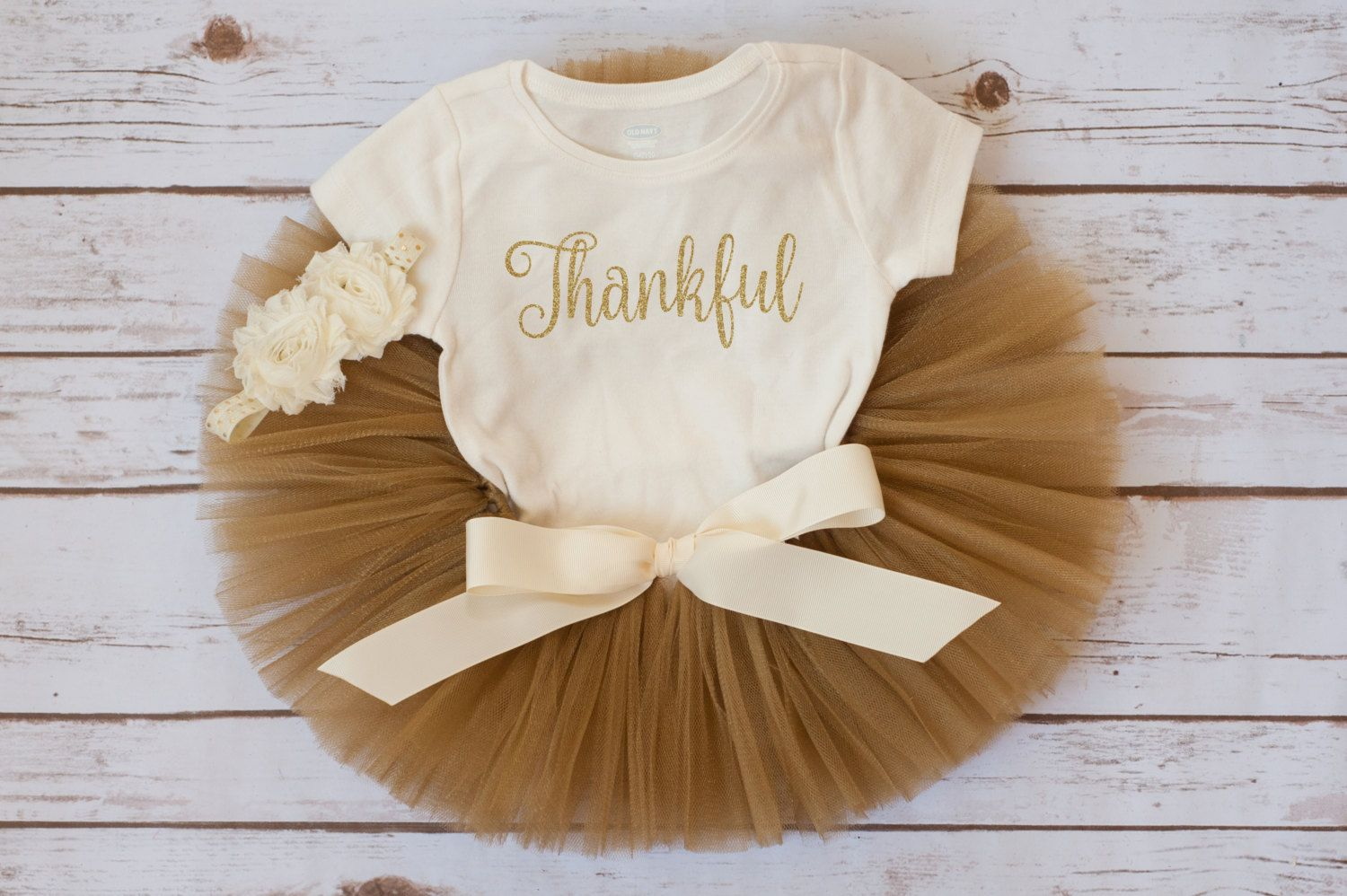 First Thanksgiving outfit girl Thankful tutu fall outfit baby girl first Thanksgiving baby outfit fall tutu outfit newborn thanksgiving #thanksgivingoutfit