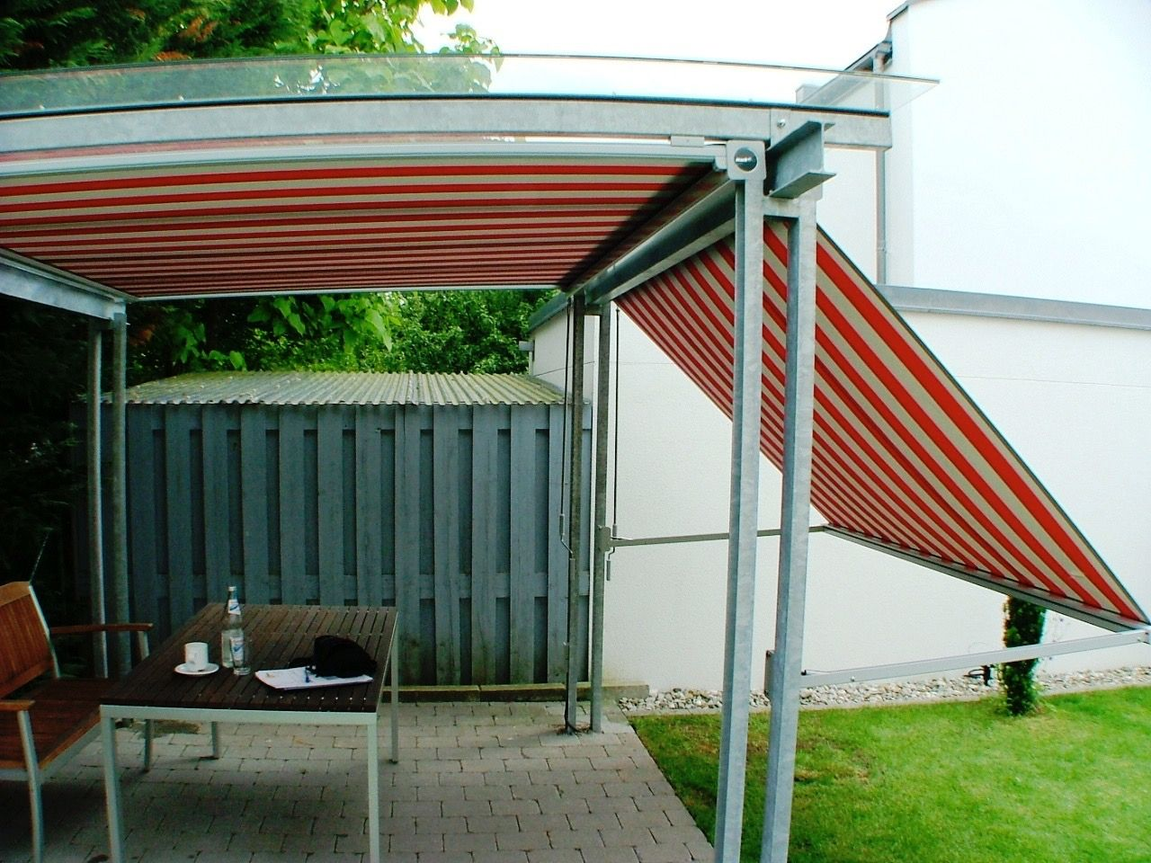 Markise 3x3m Excellent Architektur Pavillon Markise Mit
