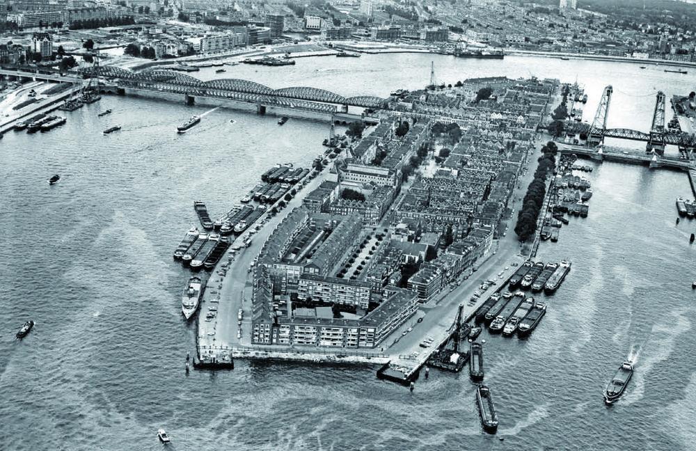 De Hef 1938 Rotterdam Stad Historische Foto S
