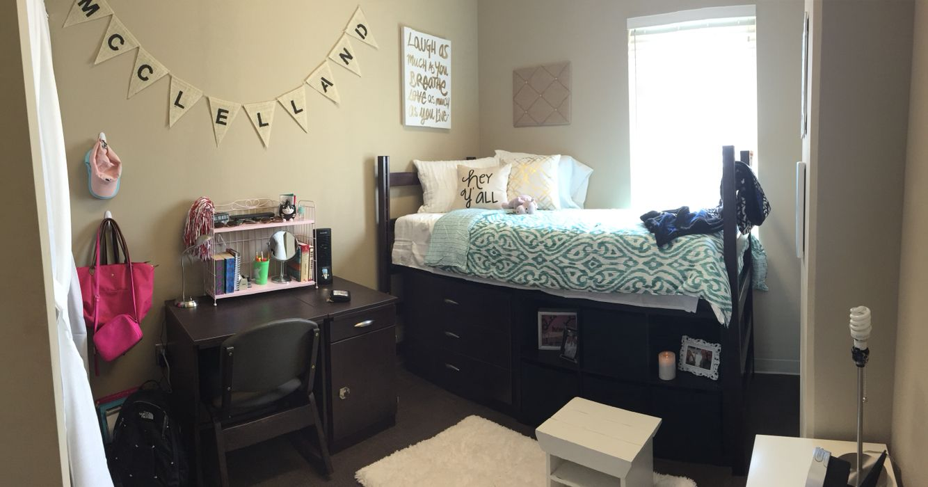University Of Alabama Presidential Village 2 Dorm Single Dorm
