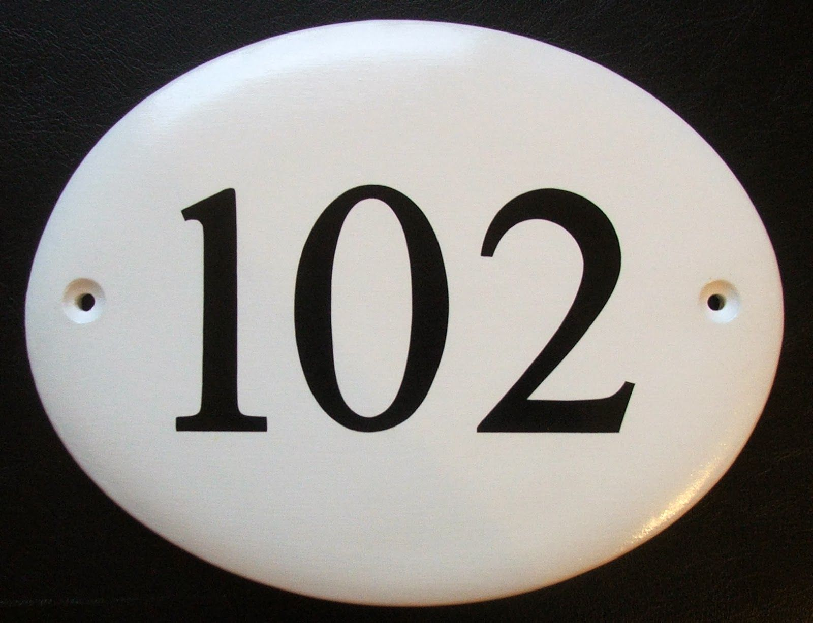 Hand Painted House Signs By Ceramic Art Contemporary House Number