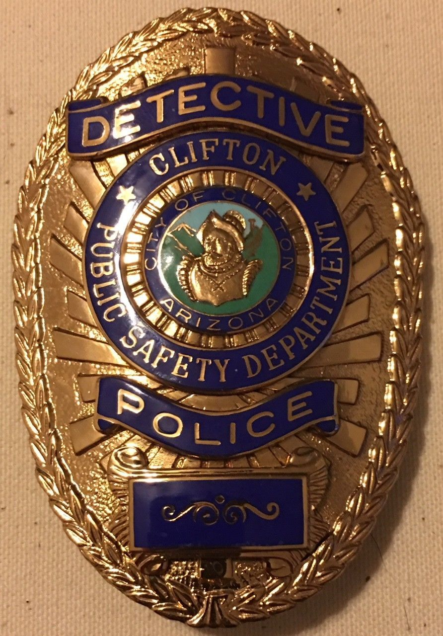 Detective, Public Safety Department, City of Clifton, AZ