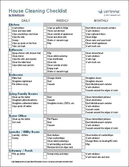 photo relating to Printable Cleaning Schedule for Working Moms identify Straightforward Cleansing plan for doing work mothers Favourable housekeeping