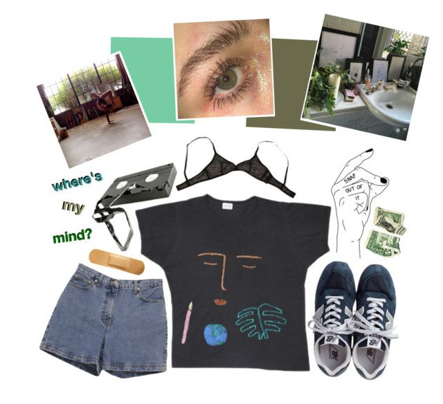 """""""// WAY OUT IN THE WATER, SEE IT SWIMMING ._"""" by pwr-bttm ❤ liked on Polyvore featuring Ann Taylor, New Balance, Eres, chillvibes, rantingren, iwanttoart and artistsblock"""