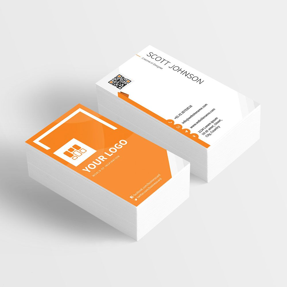 simple business card templates free