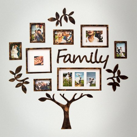 Dl Furniture Family Tree Photo Frame Set College Frame Wall