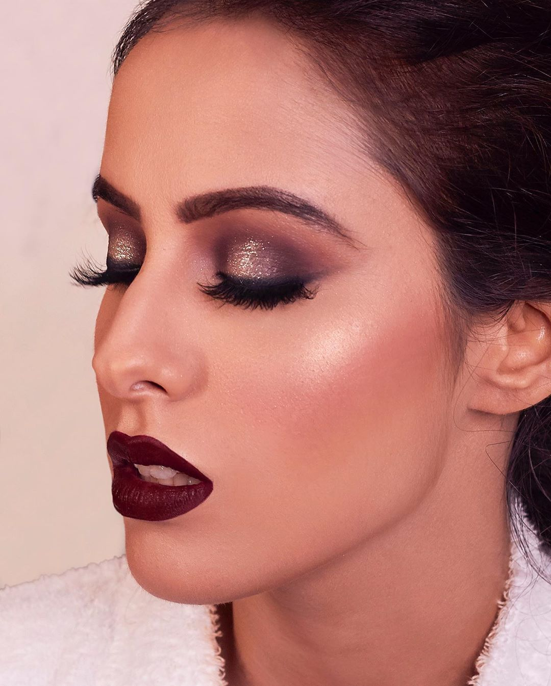 Here Are Some Indian Bridal Makeup Images To Give You Some Much-Needed Makeup Inspiration -   13 evening makeup 2018 ideas