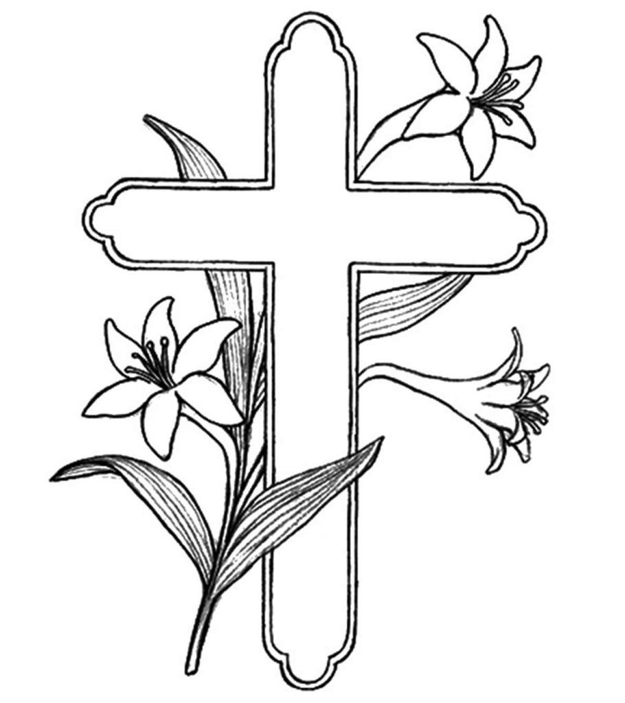 Top 10 Free Printable Cross Coloring Pages Online Cross