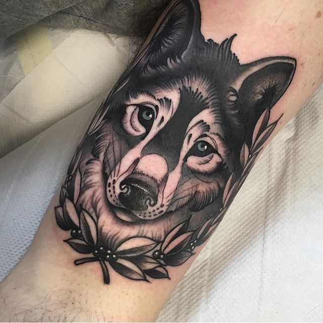 46 Unique Wolf Head Tattoos Ideas: Pin By Sommer Seufzen On Ink