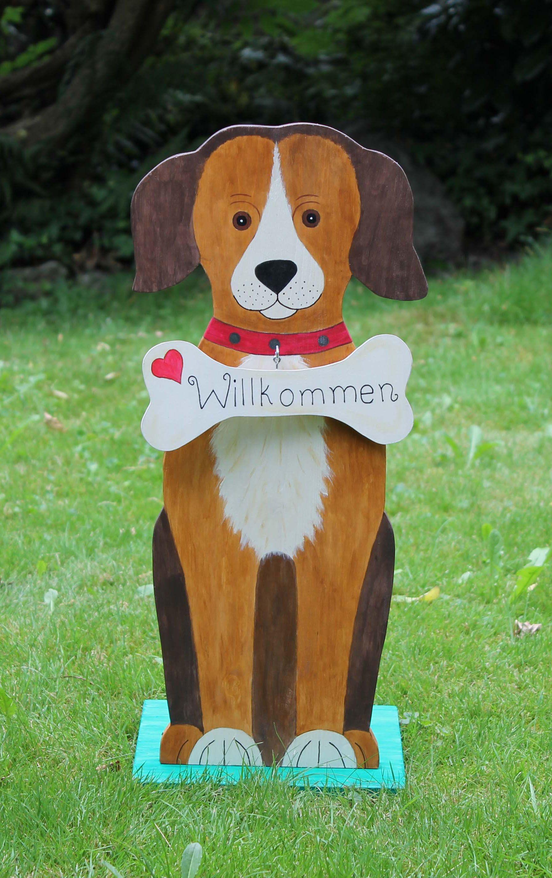 Hund Aus Holz Basteln