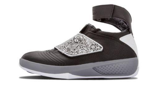 online retailer 0b07b 3a8bc NEW Nike Air Jordan XX Playoffs 310455 003 Oreo 20 White Cool Grey SZ 10.5  Clothing