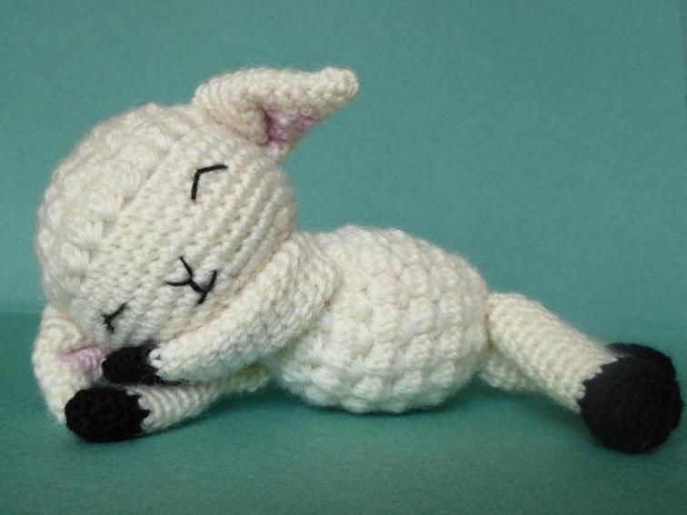 Lamb Amigurumi Pattern Crochet Lamb Amigurumi Crochet And