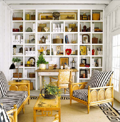Decorate small spaces - http://dressingmynest.com/decorate-small ...