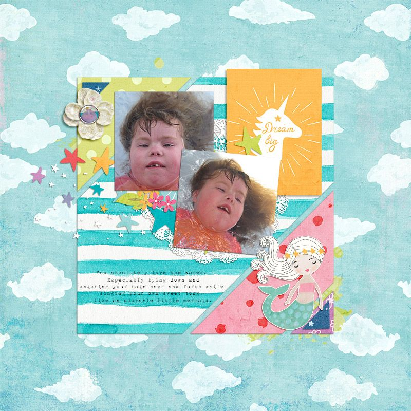 Michelle Collins - Celebrate Your Inner Child collection from littledreamer.co Template from Amy Martin