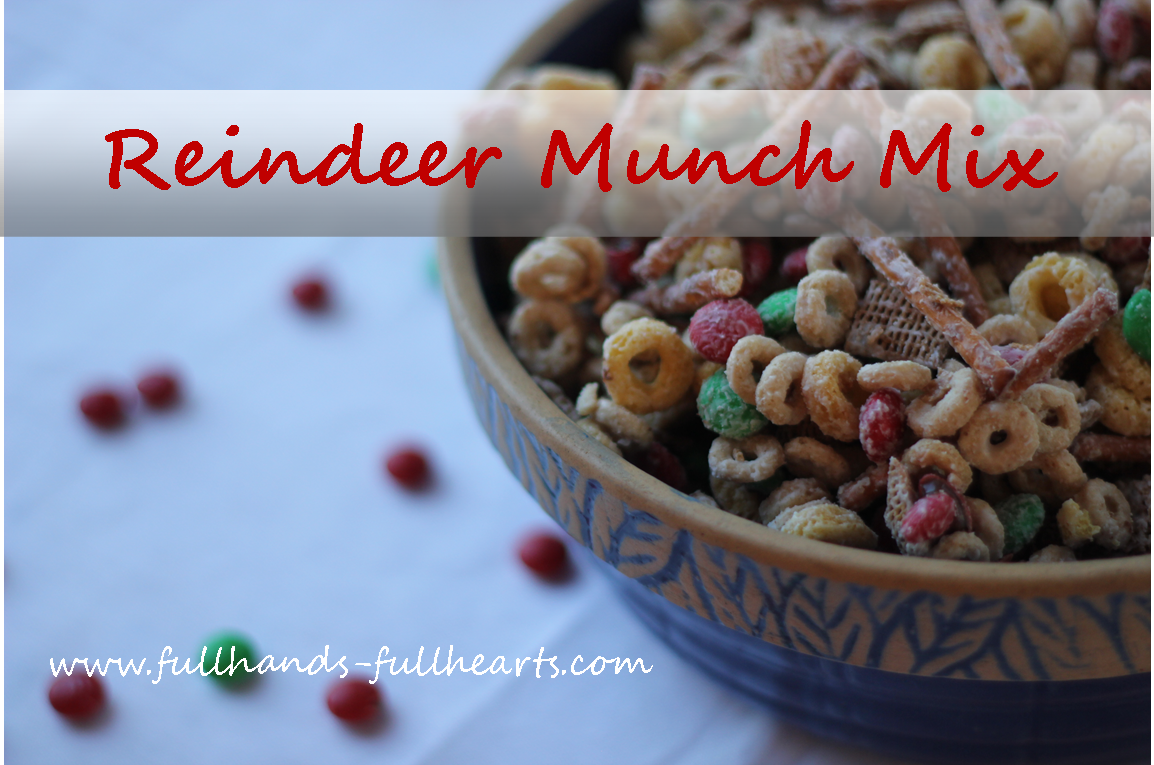 Trail mix for christmas gifts