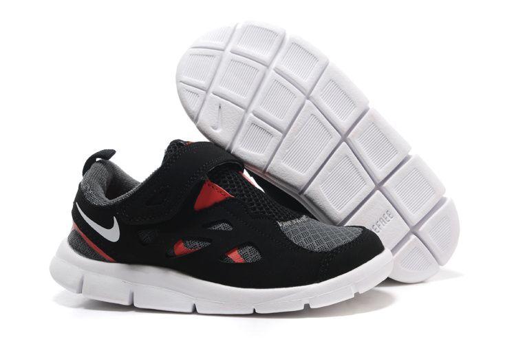 online store 2685d fa4f5 Kids Nike Free Run 2 black red