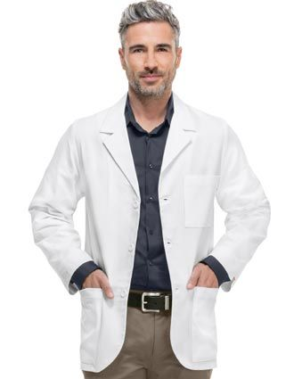 Shop Men's Lab Coats Discount Sale | Cheap Mens Professional Lab ...