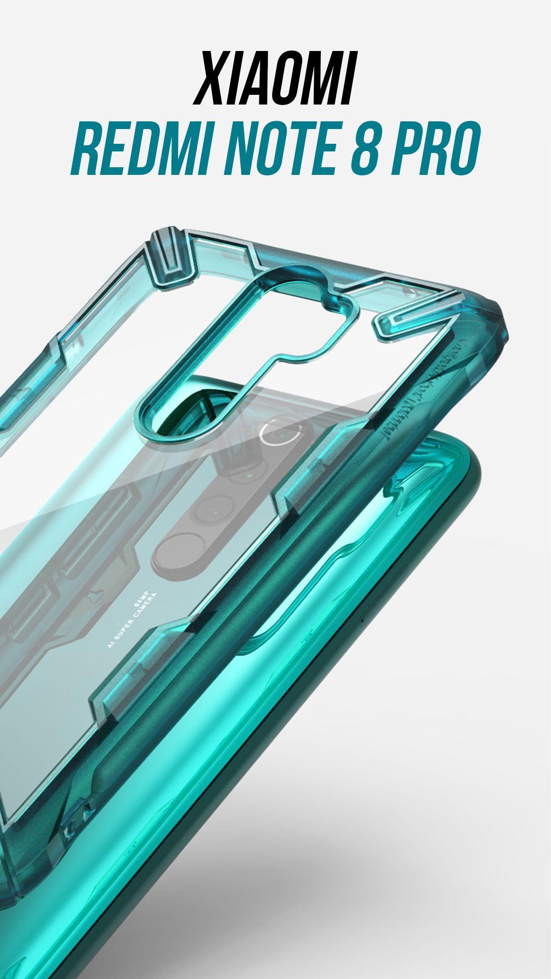 Xiaomi Redmi Note 8 Pro Fusion X Turquoise Green Xiaomi Design Case Phone Cases
