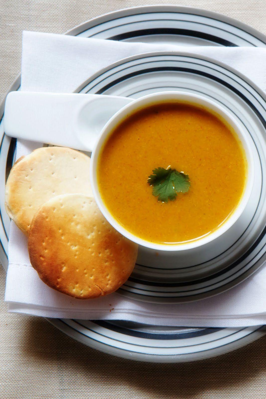 Curried Orange Sweet Potato Soup