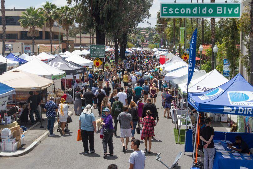 Escondido Grand Avenue Festival. If you are need a mobile