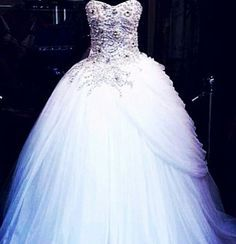 blinged out wedding dress - Google Search