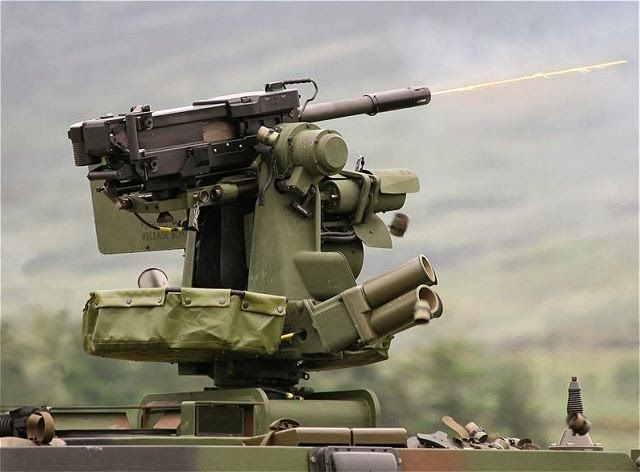 Kongsberg M151 protector RWS Remote Weapon Station is in service with the U.S. Army