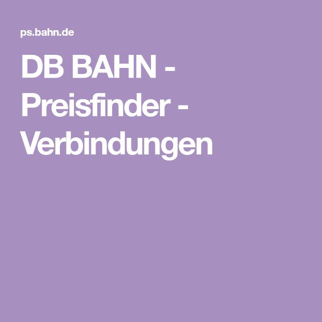 db preisfinder