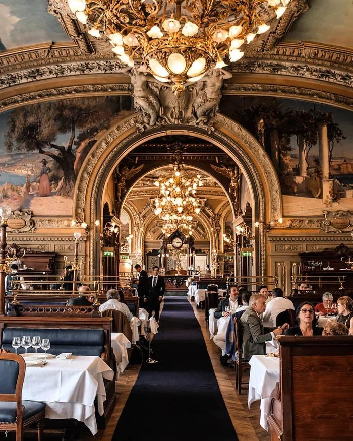 Restaurant Le Train Bleu Paris Paris Paris Home Architecture
