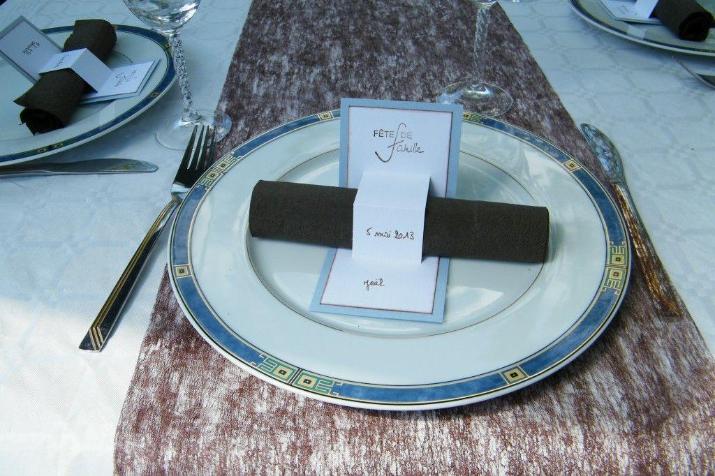 Idée Scrapbooking Pour Communion Marque Place Tablescapes Table Decorations