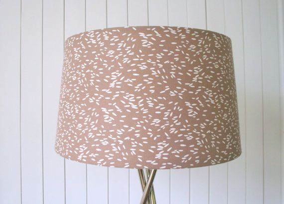 Tripod Light And Lampshade Scandinavian Designer By Madeinfabric 160 00 Cover Lampshade Tripod Lighting Fabric Floor Lamp