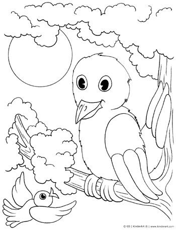 Birds Coloring Page Bird Coloring Pages Frog Coloring Pages