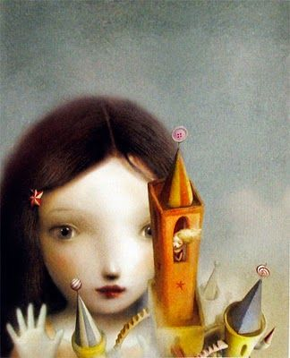 The Girl In the Castle Inside the Museum, by Kate Bernheimer, illustrated by NIcoletta Ceccoli