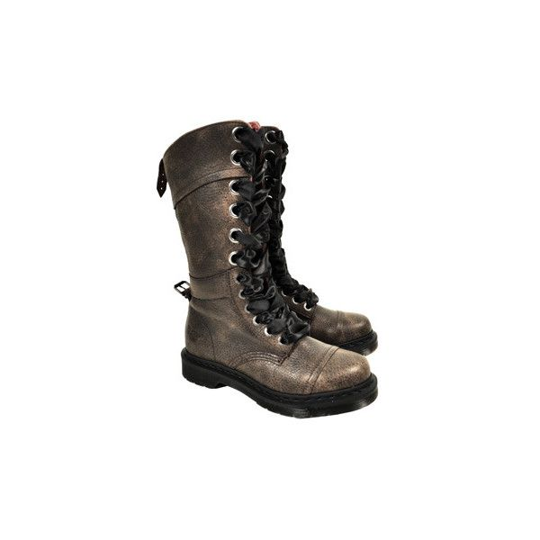 9cbb6d8f7aa Dr Martens 1914 Triumph boots - womens military boots - Dr Martens shoes UK  (£130) found on Polyvore