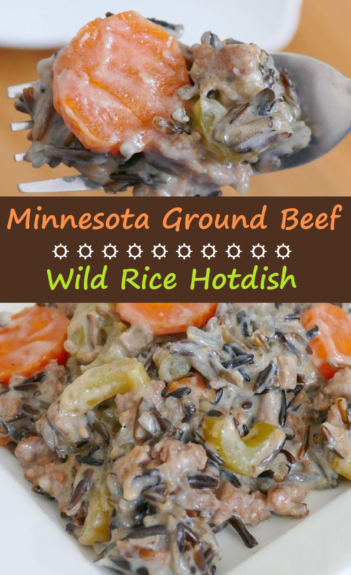 Minnesota Ground Beef And Wild Rice Hotdish Beefstroganof Beefstew In 2020 Crockpot Recipes Beef Stew Pork Dinner Venison Recipes