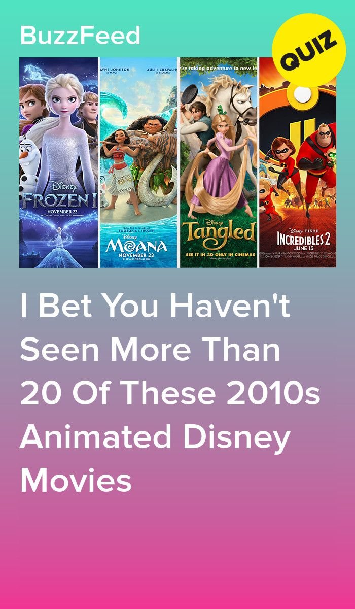 How Many Of These Animated Disney Movies Have You Seen In The Last Decade Movie Quizzes Disney Quiz Disney Movies