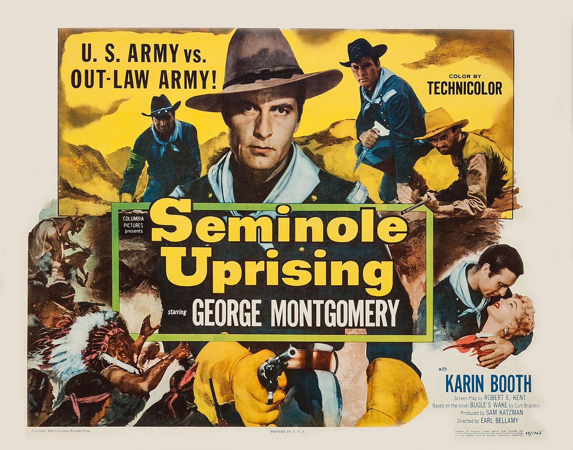 Image result for seminole uprising 1955