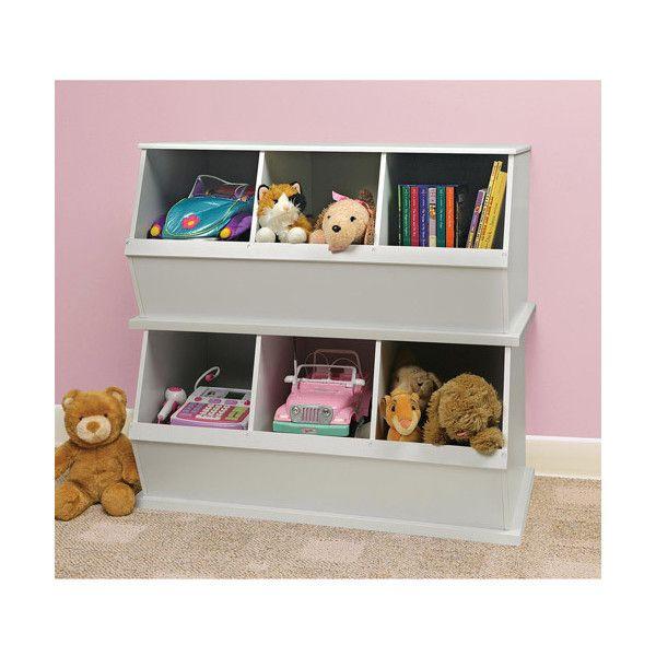 Badger Basket   Stackable Storage Cubbies, White: Kidsu0027 U0026 Teen Rooms :.