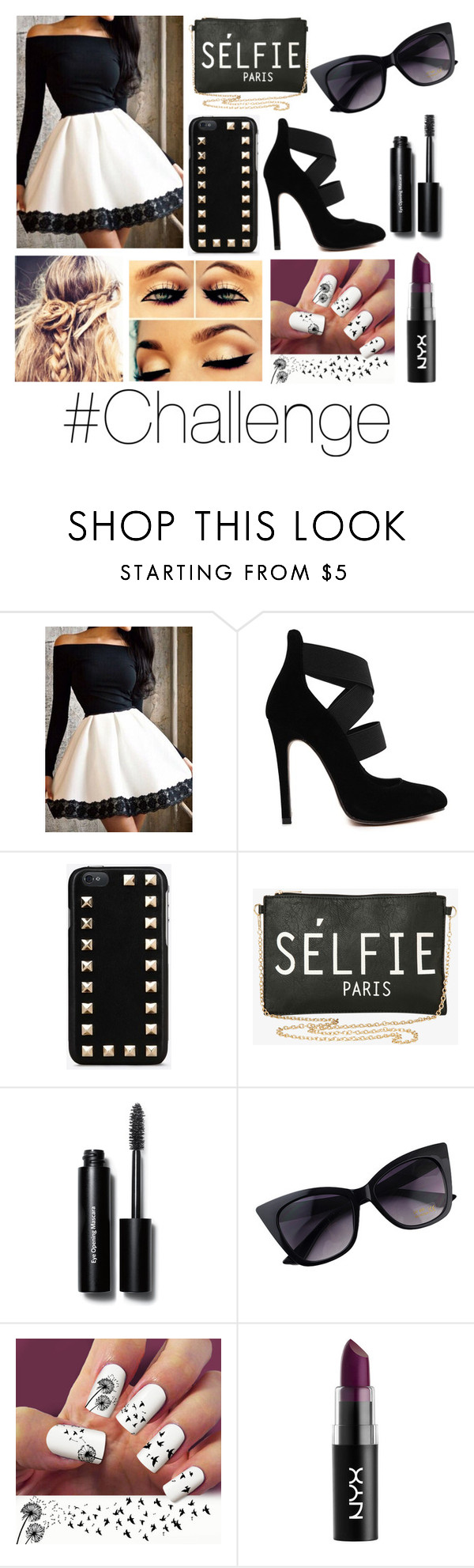 """""""@paris8484 challenge! RTD"""" by happinesspeaceandlove ❤ liked on Polyvore featuring Valentino, Torrid and Bobbi Brown Cosmetics"""