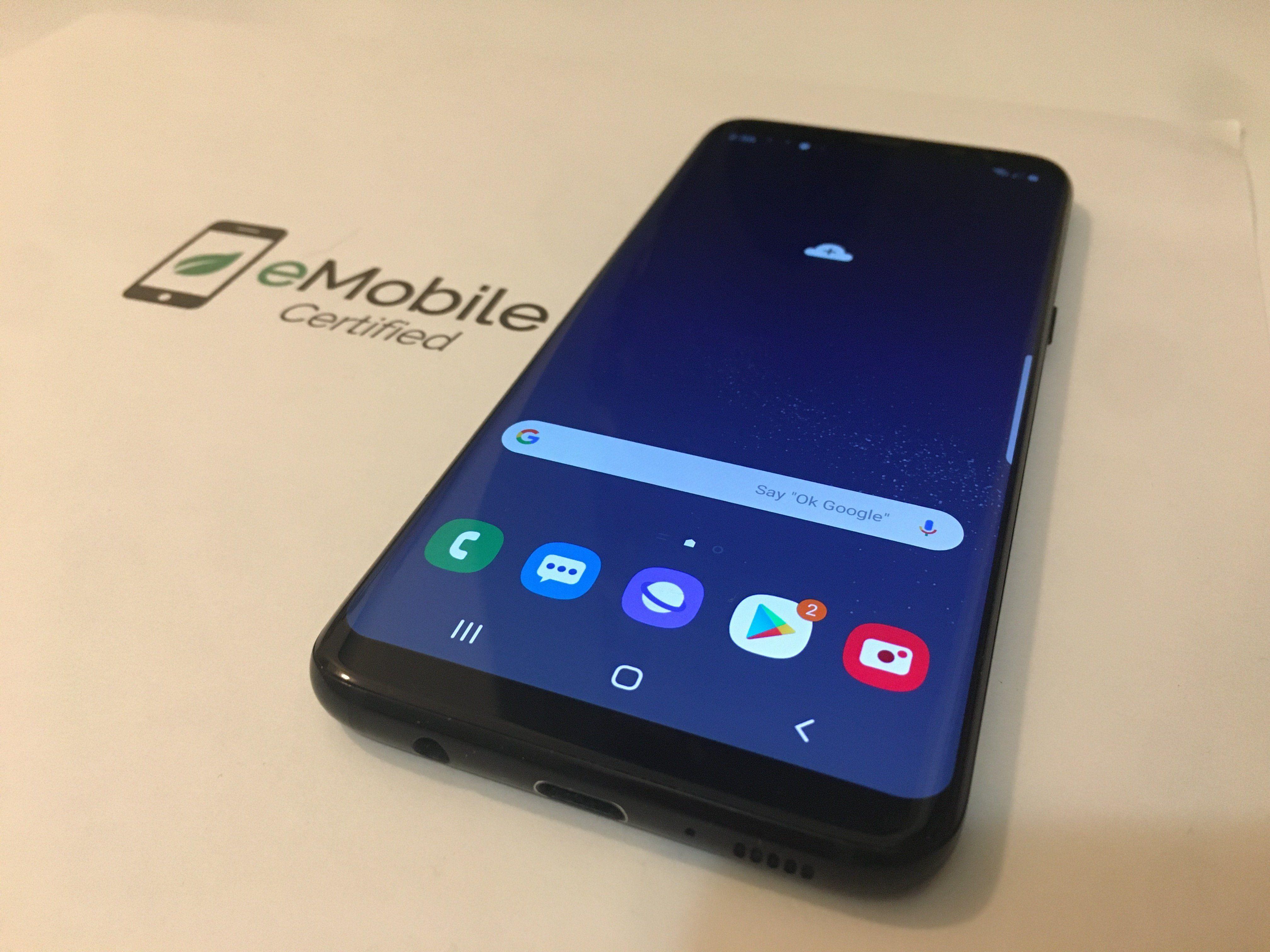 Samsung Galaxy S8 64gb Black Smartphone Bis 250 Euro Mit Guter Kamerawenn Sie Auf Der Suche Nach Den Besten Kamer In 2020 Handy Kaufen Smartphone Handy Ladestation
