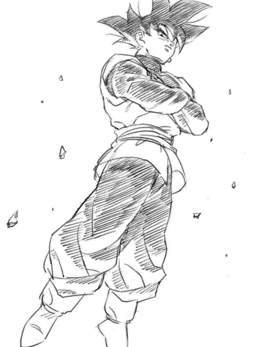 Black Goku Dragon Ball Art Anime Dragon Ball