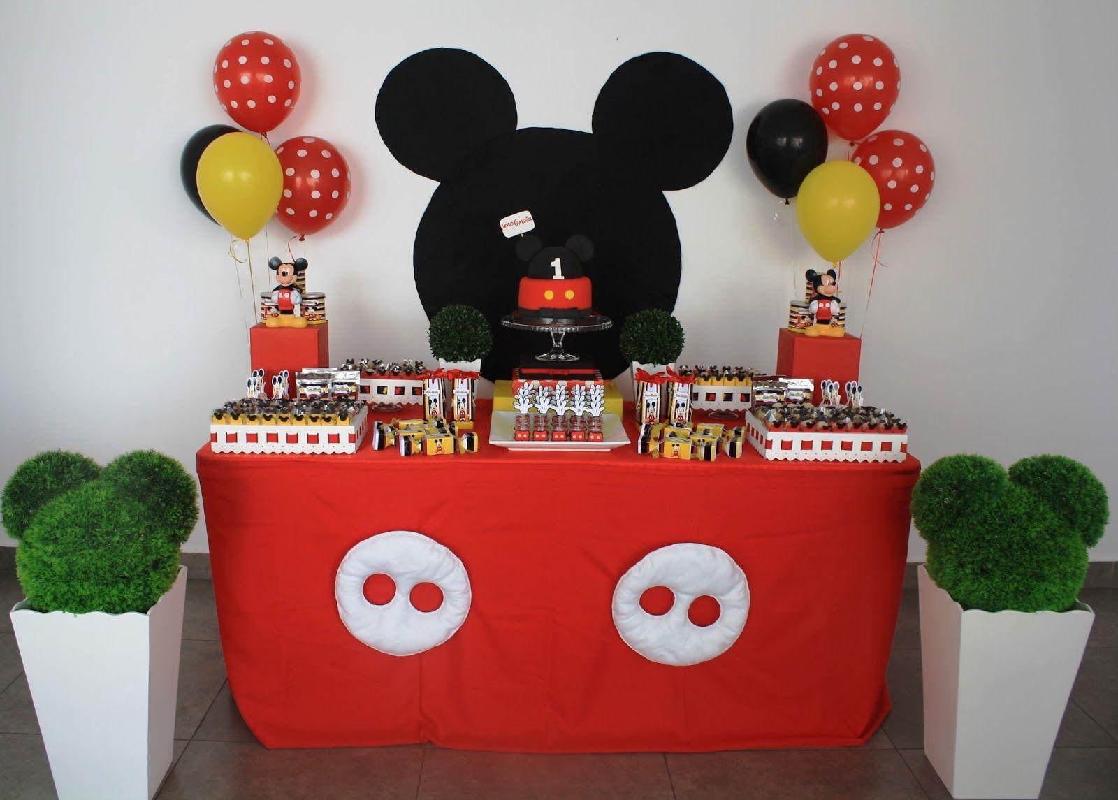 fiesta de mickey mouse - Buscar con Google | mickey | Pinterest ...