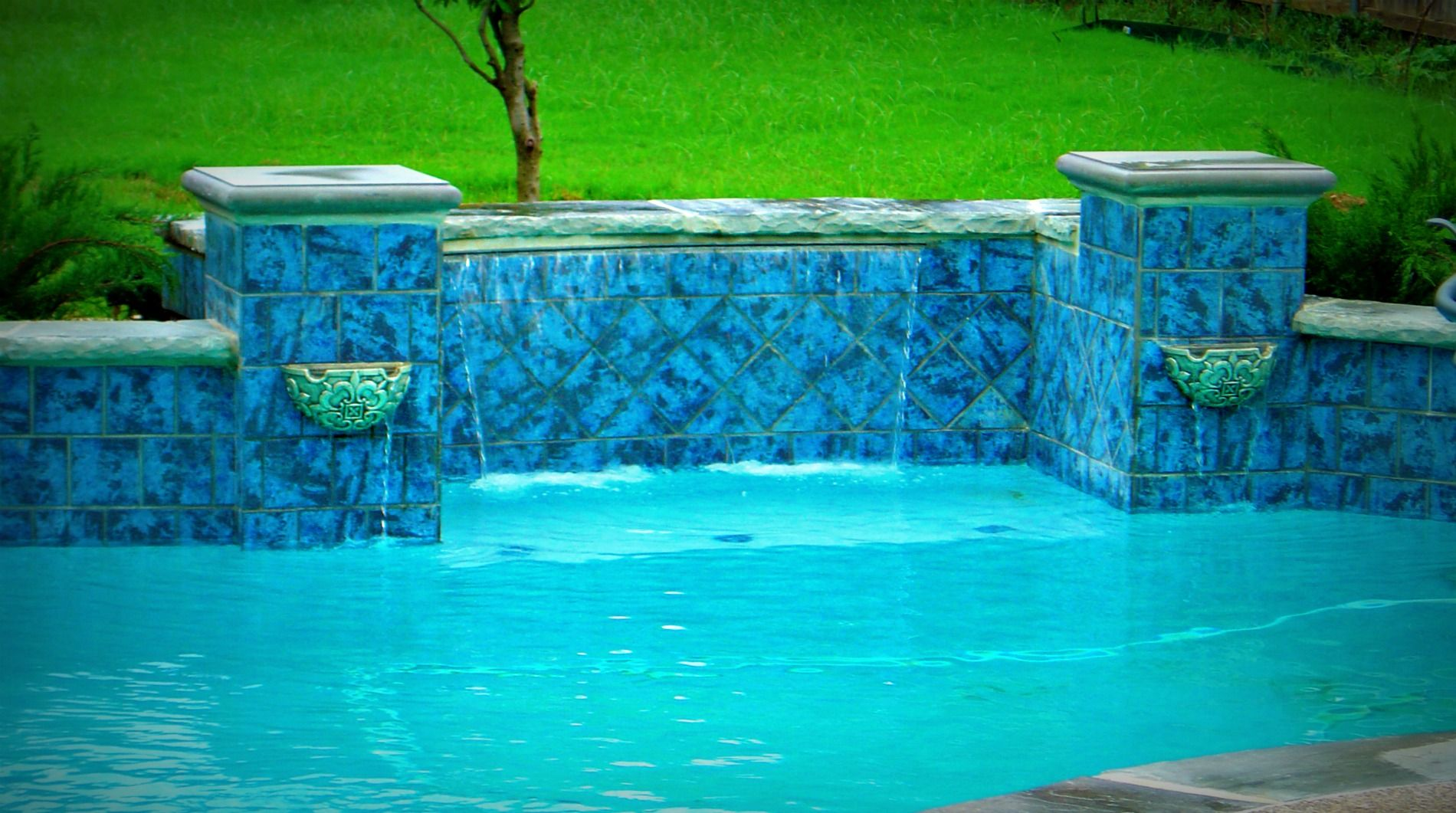 Water Feature Samples By Award Winning Dallas Fort Worth Swimming Pool Builder Puryear Custom