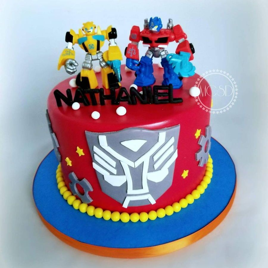 Outstanding Transformers Cake With Images Transformers Birthday Cake Funny Birthday Cards Online Elaedamsfinfo
