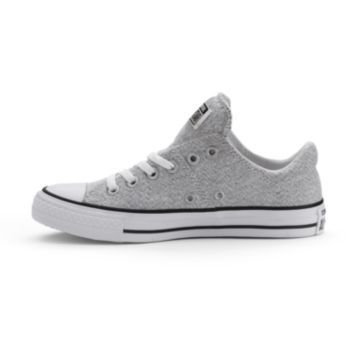 Womens Converse All Star Madison Sneakers Size 5 Grey