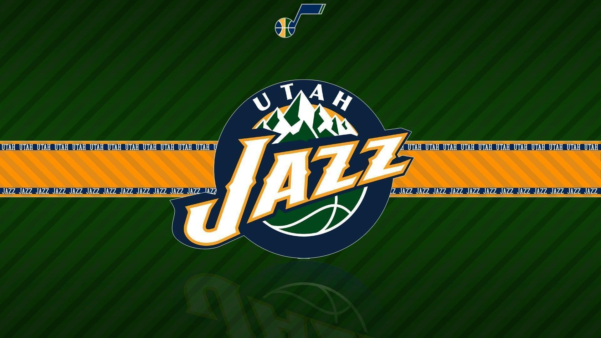 Utah Jazz Logo Yellow