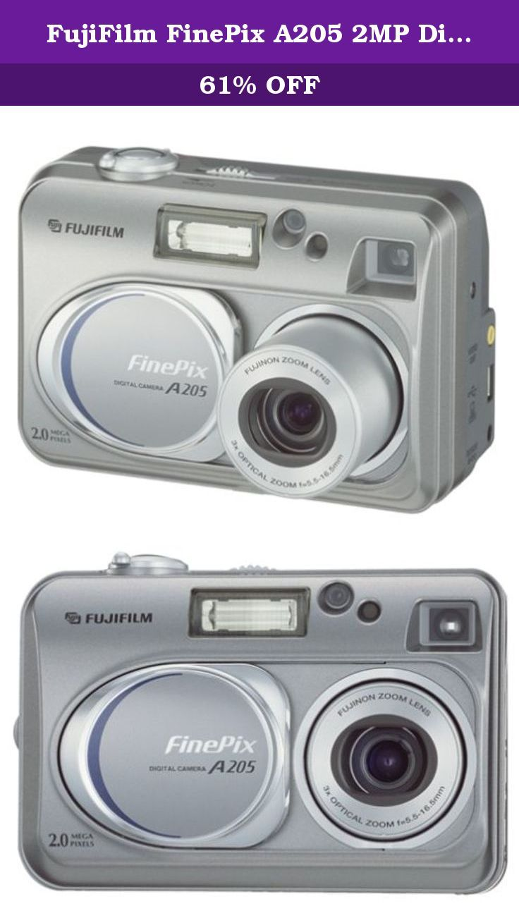 FujiFilm FinePix A205 2MP Digital Camera w/ 3x Optical Zoom. User-friendly  controls